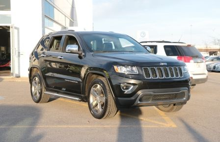 2014 Jeep Grand Cherokee Limited 4WD AUTO A/C CUIR MAGS CAMERA RECUL à Laval