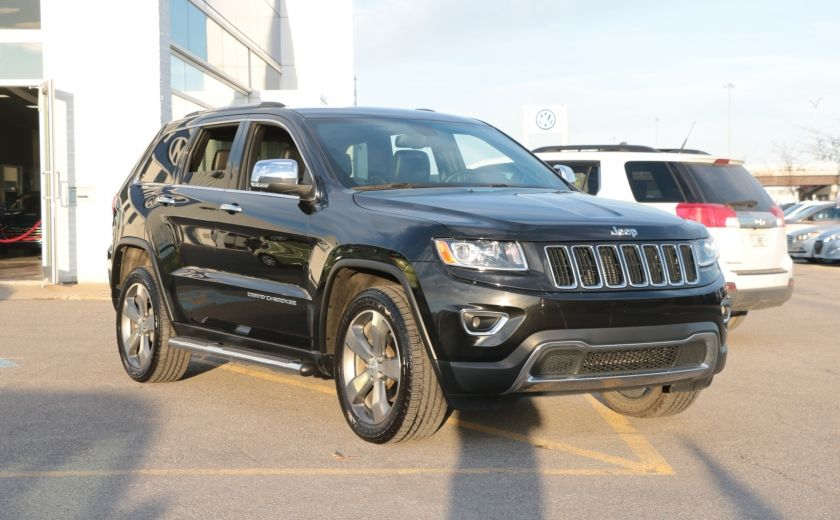 2014 Jeep Grand Cherokee Limited 4WD AUTO A/C CUIR MAGS CAMERA RECUL #0