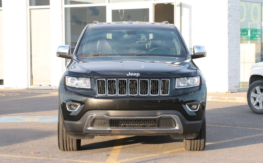 2014 Jeep Grand Cherokee Limited 4WD AUTO A/C CUIR MAGS CAMERA RECUL #1
