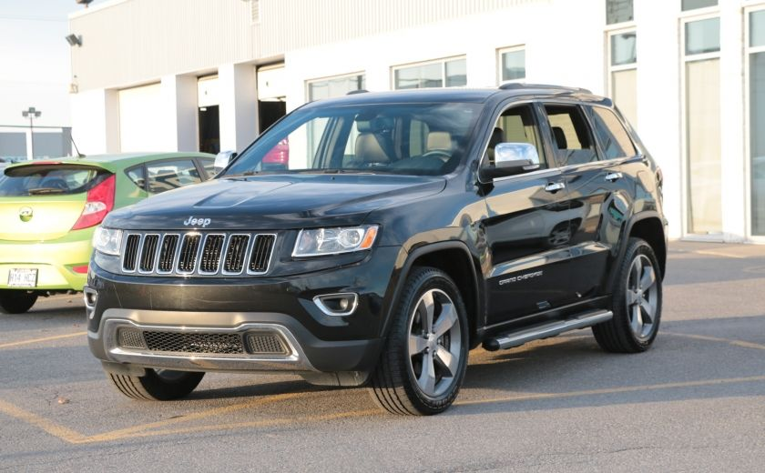 2014 Jeep Grand Cherokee Limited 4WD AUTO A/C CUIR MAGS CAMERA RECUL #2