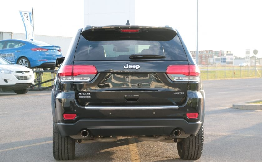2014 Jeep Grand Cherokee Limited 4WD AUTO A/C CUIR MAGS CAMERA RECUL #3