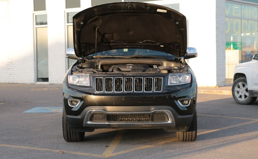 2014 Jeep Grand Cherokee Limited 4WD AUTO A/C CUIR MAGS CAMERA RECUL #29