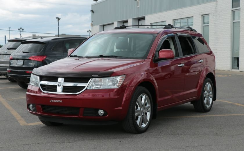2010 Dodge Journey R/T AWD AUTO A/C CUIR TOIT MAGS 7 PASS #2
