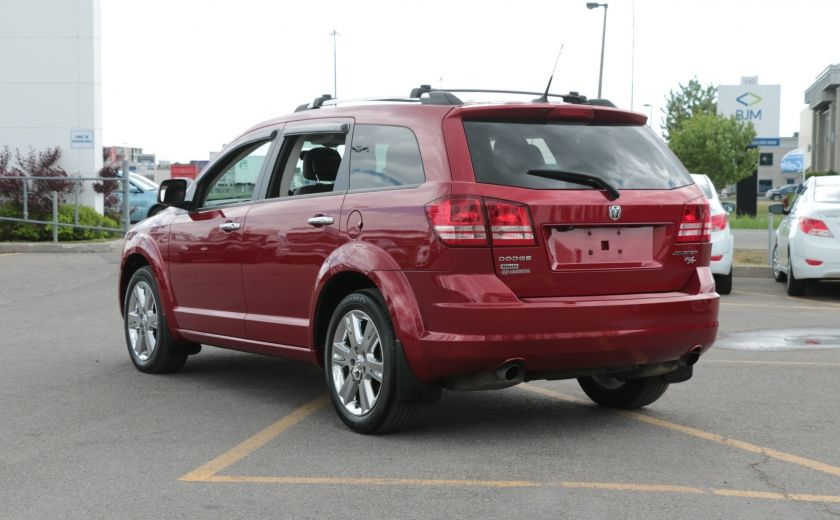 2010 Dodge Journey R/T AWD AUTO A/C CUIR TOIT MAGS 7 PASS #4
