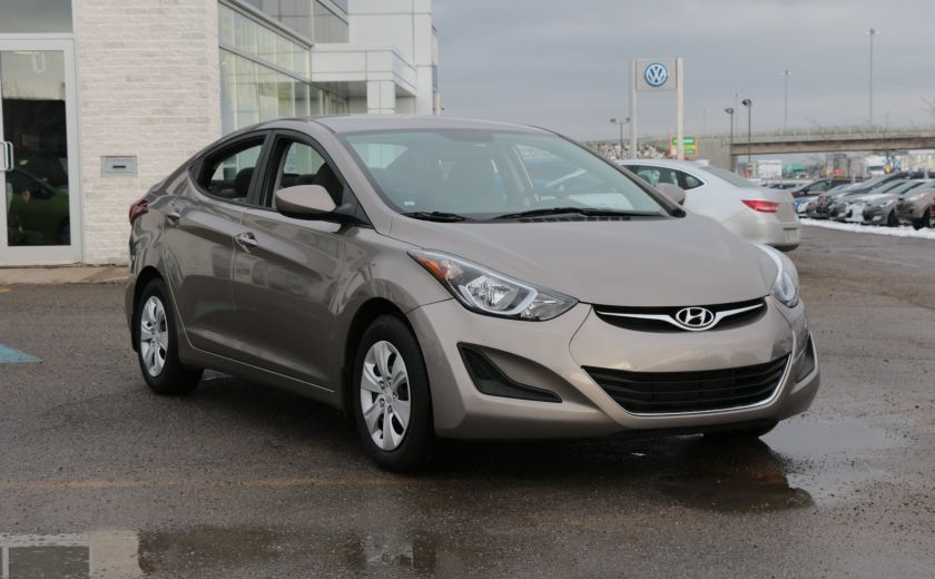 2015 Hyundai Elantra L #0
