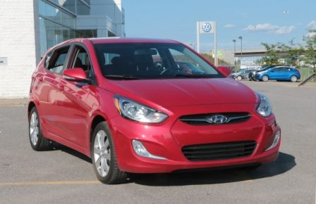 2013 Hyundai Accent GLS MAN A/C TOIT BLUETOOTH MAGS in Abitibi