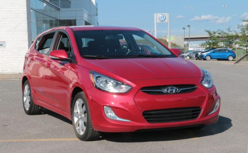 2013 Hyundai Accent GLS MAN A/C TOIT BLUETOOTH MAGS #0