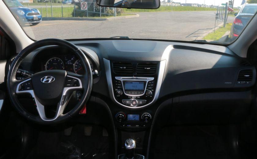 2013 Hyundai Accent GLS MAN A/C TOIT BLUETOOTH MAGS #12