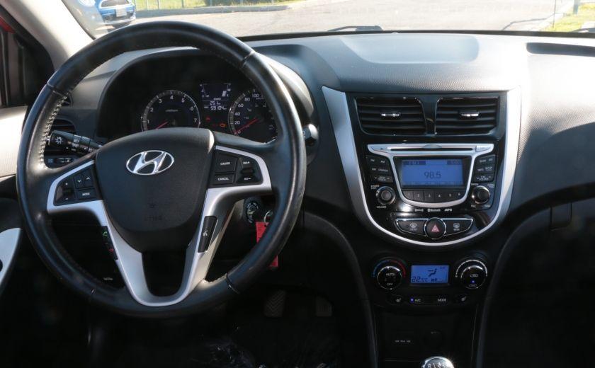 2013 Hyundai Accent GLS MAN A/C TOIT BLUETOOTH MAGS #13
