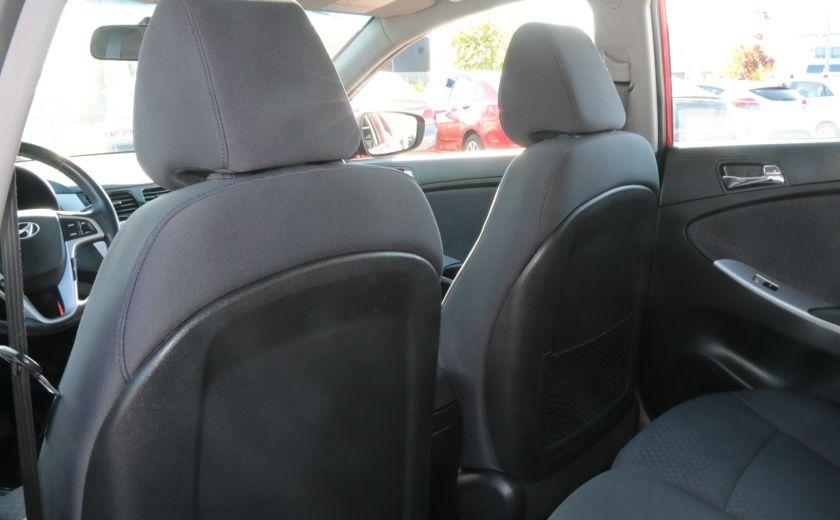 2013 Hyundai Accent GLS MAN A/C TOIT BLUETOOTH MAGS #19
