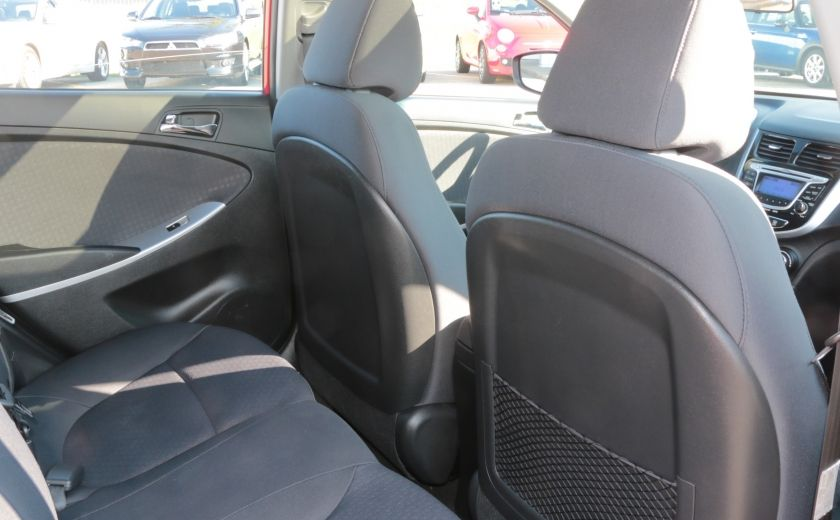 2013 Hyundai Accent GLS MAN A/C TOIT BLUETOOTH MAGS #21