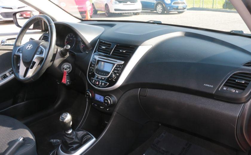 2013 Hyundai Accent GLS MAN A/C TOIT BLUETOOTH MAGS #23