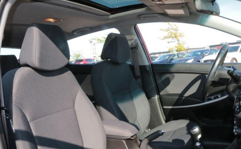 2013 Hyundai Accent GLS MAN A/C TOIT BLUETOOTH MAGS #25