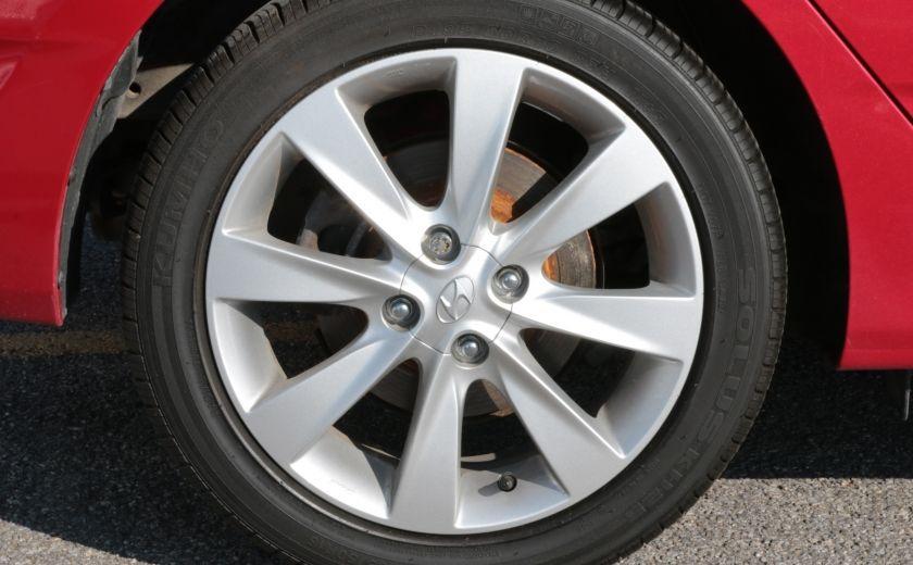 2013 Hyundai Accent GLS MAN A/C TOIT BLUETOOTH MAGS #32