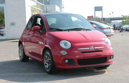 2012 Fiat 500 Sport TOIT CUIR MAGS BLUETOOTH in Blainville