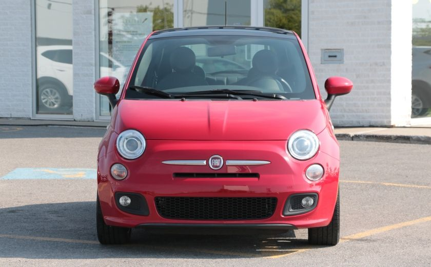 2012 Fiat 500 Sport TOIT CUIR MAGS BLUETOOTH #1