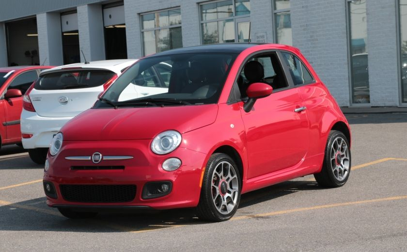 2012 Fiat 500 Sport TOIT CUIR MAGS BLUETOOTH #2