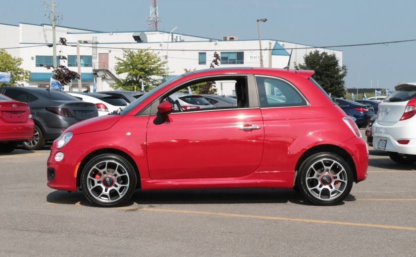 2012 Fiat 500 Sport TOIT CUIR MAGS BLUETOOTH #3