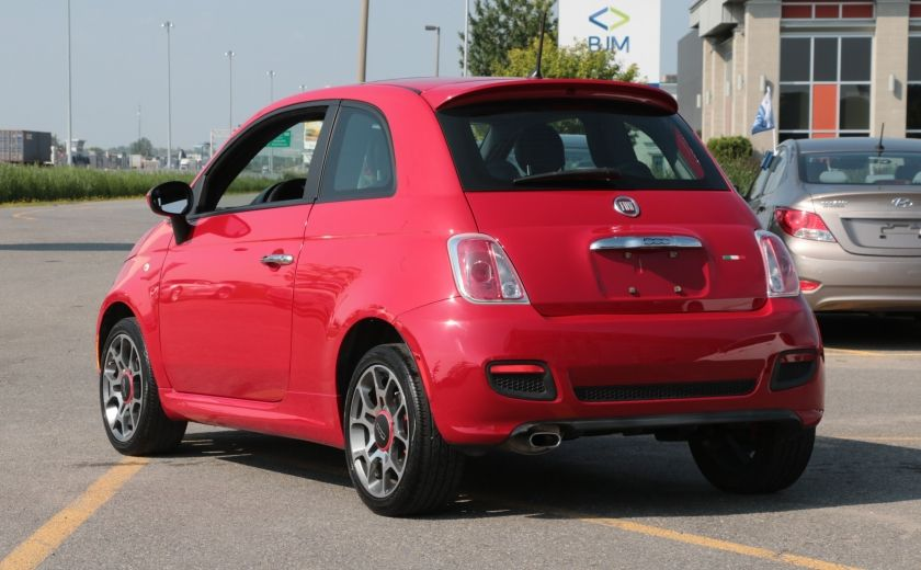 2012 Fiat 500 Sport TOIT CUIR MAGS BLUETOOTH #4
