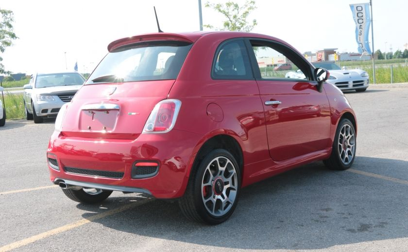 2012 Fiat 500 Sport TOIT CUIR MAGS BLUETOOTH #6