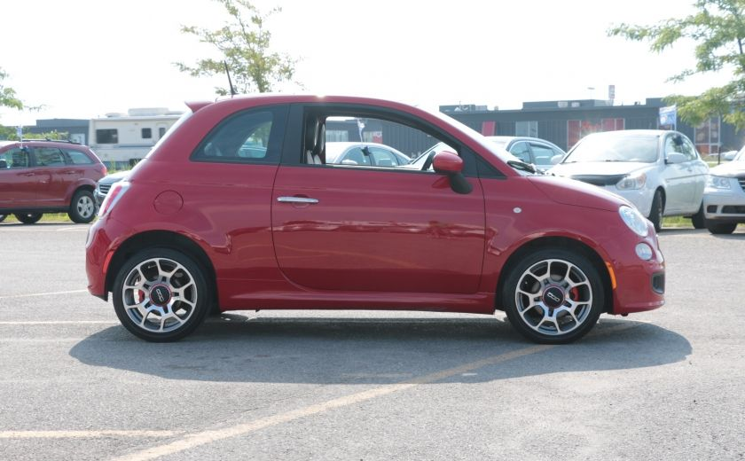 2012 Fiat 500 Sport TOIT CUIR MAGS BLUETOOTH #7