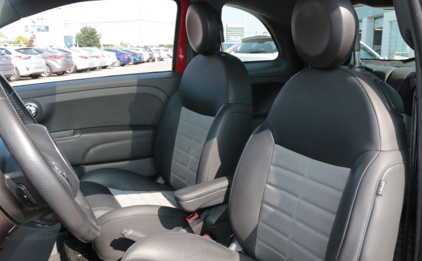 2012 Fiat 500 Sport TOIT CUIR MAGS BLUETOOTH #9