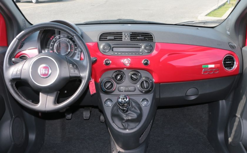 2012 Fiat 500 Sport TOIT CUIR MAGS BLUETOOTH #12