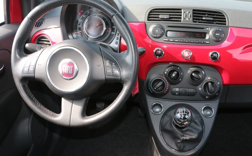 2012 Fiat 500 Sport TOIT CUIR MAGS BLUETOOTH #13