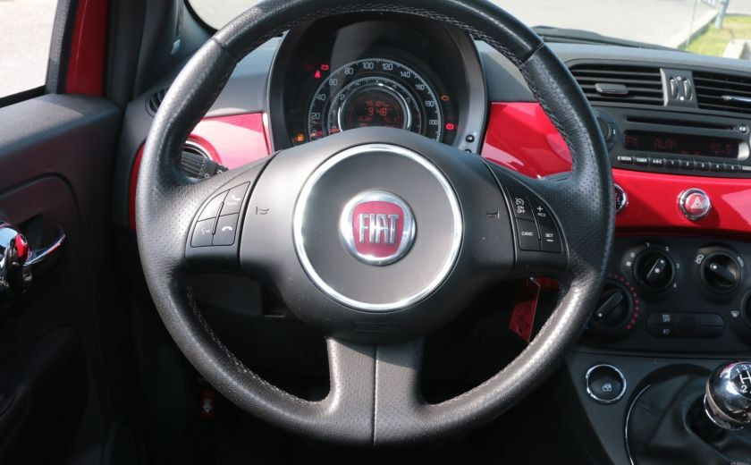 2012 Fiat 500 Sport TOIT CUIR MAGS BLUETOOTH #14