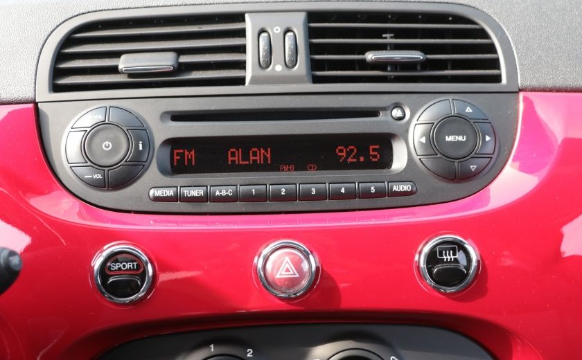 2012 Fiat 500 Sport TOIT CUIR MAGS BLUETOOTH #15