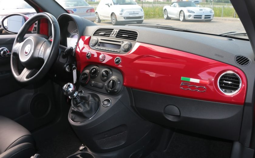 2012 Fiat 500 Sport TOIT CUIR MAGS BLUETOOTH #20