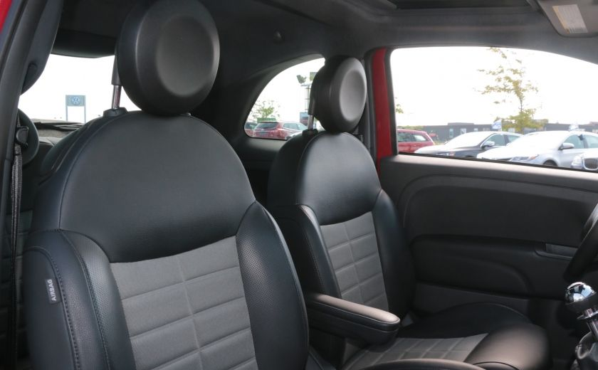 2012 Fiat 500 Sport TOIT CUIR MAGS BLUETOOTH #22