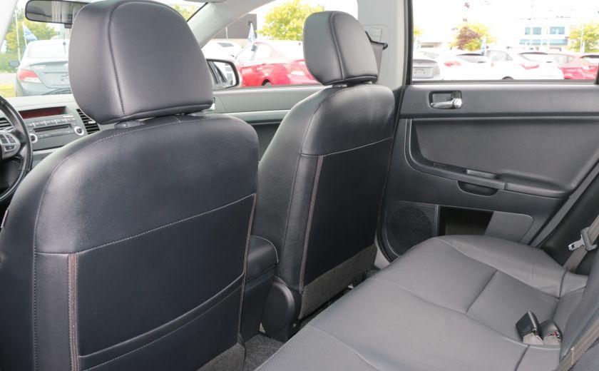 2010 Mitsubishi Lancer GTS Sportback MAN A/C CUIR TOIT BLUETOOTH #17