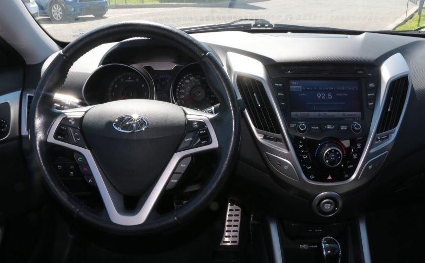 2012 Hyundai Veloster Tech AUTO TOIT PANO NAV CAMERA MAGS BLUETOOTH #13
