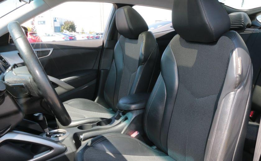 2012 Hyundai Veloster Tech AUTO TOIT PANO NAV CAMERA MAGS BLUETOOTH #9
