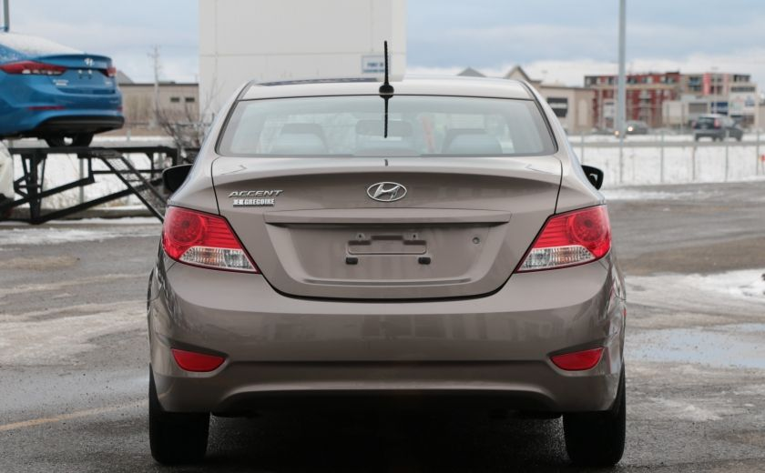 2012 Hyundai Accent GL A/C GR ELECT #5