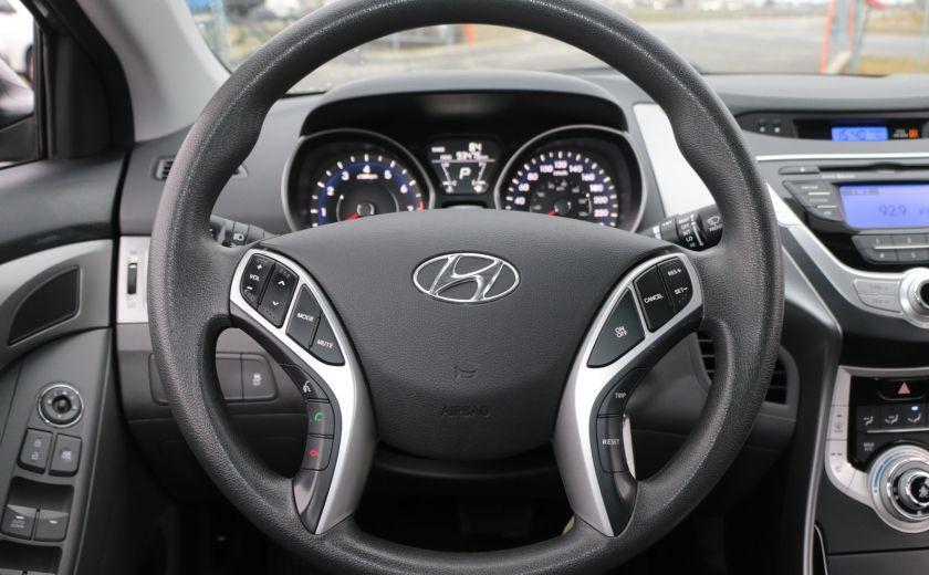 2012 Hyundai Elantra GL A/C GR ELECT BLUETOOTH #12