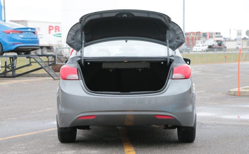 2012 Hyundai Elantra GL A/C GR ELECT BLUETOOTH #26