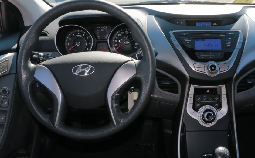 2013 Hyundai Elantra L MAN GR ELECT #12