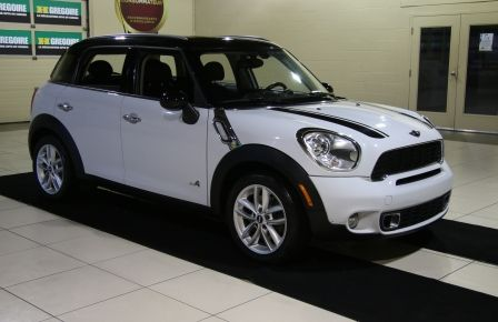 2011 Mini Cooper S AWD A/C CUIR TOIT MAGS in Laval