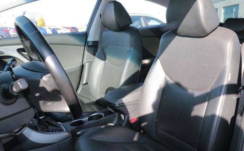 2015 Hyundai Elantra Limited AUTO TOIT CAMERA NAV BLUETOOTH #9
