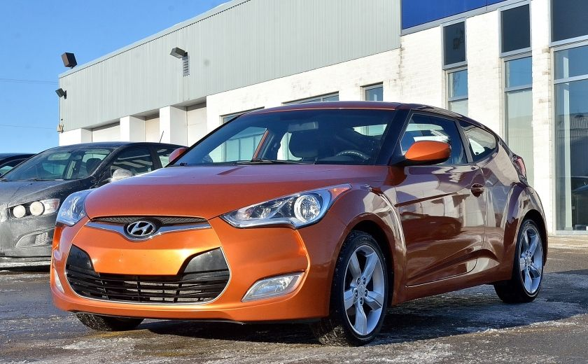 2013 Hyundai Veloster 3dr Cpe MAN A/C CAMERA BLUETOOTH MAGS #2