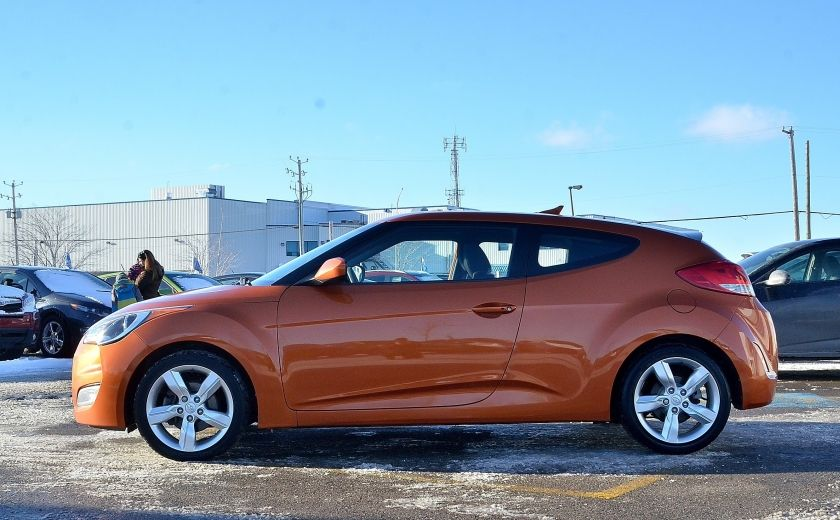 2013 Hyundai Veloster 3dr Cpe MAN A/C CAMERA BLUETOOTH MAGS #3