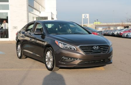 2015 Hyundai Sonata 2.4L Limited A/C TOIT CUIR BLUETOOTH CAMERA NAV in Brossard