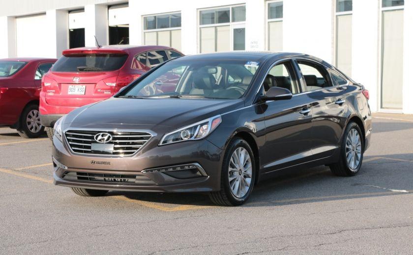 2015 Hyundai Sonata 2.4L Limited NAV CAMERA TOIT CUIR BLUETOOTH #2