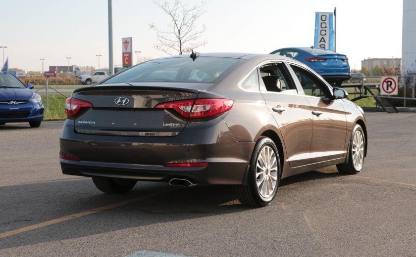 2015 Hyundai Sonata 2.4L Limited NAV CAMERA TOIT CUIR BLUETOOTH #6