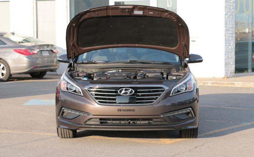 2015 Hyundai Sonata 2.4L Limited NAV CAMERA TOIT CUIR BLUETOOTH #34
