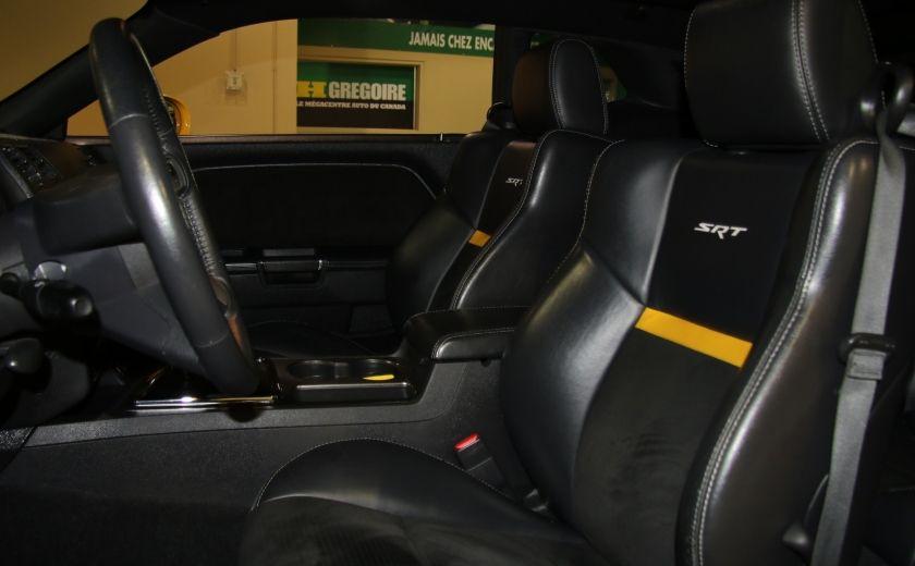 2010 Dodge Challenger SRT8 A/C CUIR TOIT NAV MAGS #9