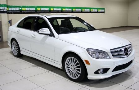 2009 Mercedes Benz C230 2.5L AUTO A/C CUIR TOIT MAGS in Saguenay