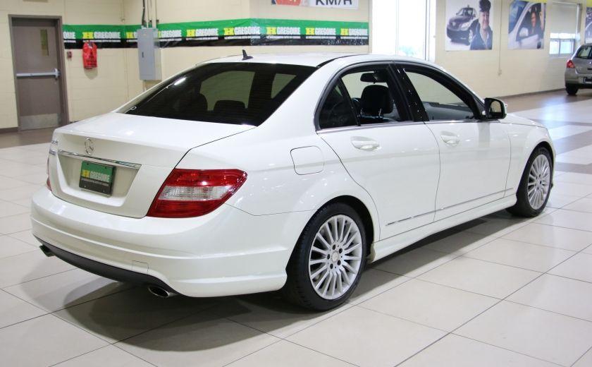 2009 Mercedes Benz C230 2.5L AUTO A/C CUIR TOIT MAGS #4